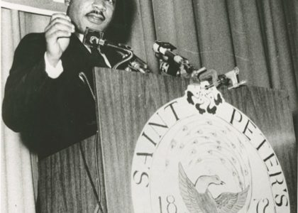 Hudson History: Dr. Martin Luther King Jr.'s Speeches in Jersey City