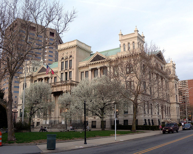 historic downtown jersey city city hall
