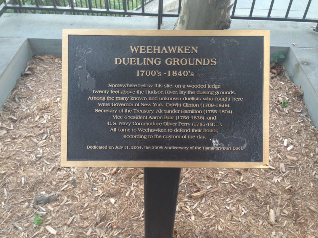 weehawken new jersey history